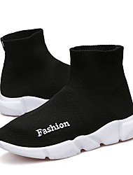 abordables -Garçon / Fille Chaussures Tricot / Tulle Printemps / Eté Confort / Semelles Légères Chaussures d'Athlétisme Course à Pied pour Noir /
