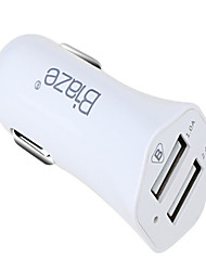 cheap -Car Charger USB Charger USB Multi-Output / QC 2.0 2 USB Ports 1 A DC 12V-24V