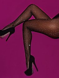 cheap -Women's Thin Sexy Pantyhose - Solid Colored