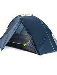 baratos -Naturehike 1 Pessoa Tenda Dupla Camada Barraca de acampamento Ao ar livre Tenda Dobrada Portátil / Á Prova-de-Chuva / Dobrável para