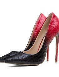 preiswerte -Damen Schuhe maßgeschneiderte Werkstoffe Frühling Sommer Pumps High Heels Stöckelabsatz Spitze Zehe für Hochzeit Party & Festivität