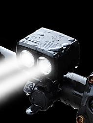 abordables -Lampe Avant de Vélo LED LED Cyclisme Conçu spécial Portable Avec le port de chargement Protection Electricité Avec interrupteur (s)