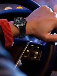 billiga -Klockarmband för Gear S3 Frontier / Gear S3 Classic Samsung Galaxy Klassiskt spänne Läder / Nylon Handledsrem