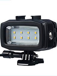 abordables -Eclairage LED Eclairage LED Etanche Mer Pour Caméra d'action Tous Plongée Plage Surf Voilier Snorkeling Plastique - 1