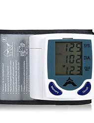 Недорогие -запястье Неприменимо Измерение кровяного давления Измерительный прибор LCD Пластик Измерение кровяного давления Измерительный прибор