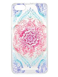 Недорогие -Кейс для Назначение Wiko U Feel Lite Pulp Fab 4G С узором Кейс на заднюю панель Цветы Мягкий ТПУ для Wiko U Feel Lite Wiko U Feel Wiko