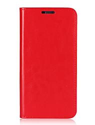 economico -Custodia Per LG G6 Porta-carte di credito Con supporto Con chiusura magnetica Integrale Tinta unica Resistente vera pelle per LG G6