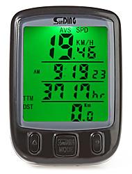 abordables -SD-563A Compteur de Vélo Etanche / Chronomètre / A Fil Cyclisme / Vélo Cyclisme