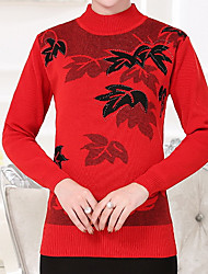 povoljno -Žene Ležerne prilike Pullover Cvjetni print
