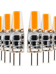 economico -YWXLIGHT® 6pcs 4W 300-400 lm G4 Luci LED Bi-pin T 1 leds COB Bianco caldo Luce fredda Bianco DC 12-24V