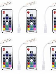 baratos -6pcs Acessório Light Strip Controlador RGB Plástico