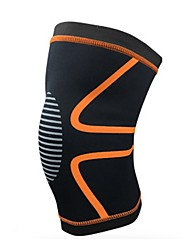 cheap -Knee Brace for Racing Basketball Jogging Running Unisex Impact Resistant Non-Slip Sports & Outdoor Lycra Spandex 1 pc Silver Orange Yellow