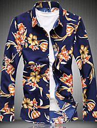 Majica Muškarci - Ulični šik Cvjetni print Print