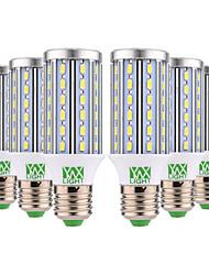 abordables -YWXLIGHT® 6pcs 12W 1100-1200lm E26 / E27 Ampoules Maïs LED T 60 Perles LED SMD 5730 Blanc Chaud Blanc Froid 85-265V