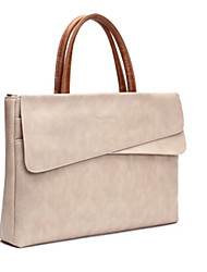 cheap -Handbags for Solid Color Genuine Leather MacBook Air 13-inch