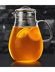 cheap -1pc Glass Coffee and Tea Teapot High Quality ,  22*9.5
