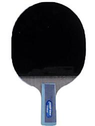 abordables -DHS® TG TB6 Ping Pang/Tennis de table Raquettes Bois Caoutchouc Manche Court Boutons