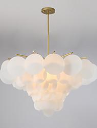 abordables -JLYLITE 6 lumières Lustre Lumière d'ambiance Finitions Peintes Métal Style mini 110-120V / 220-240V Ampoule non incluse / E12 / E14 / FCC / VDE