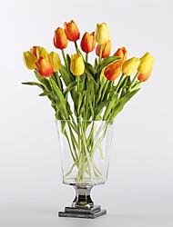 cheap -Artificial Flowers 10 Branch Modern / European Style Tulips Tabletop Flower