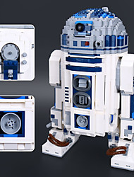 cheap -R2-D2 Building Blocks 2127pcs Classic Theme / Robot Focus Toy / Stress and Anxiety Relief Gift
