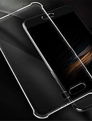 economico -Custodia Per Huawei Honor 9 Resistente agli urti Transparente Per retro Tinta unica Morbido Silicone per Honor 9
