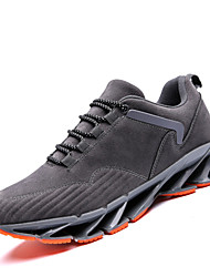 cheap -Men's Shoes Fabric Spring Summer Comfort Sneakers for Casual Outdoor Black Gray