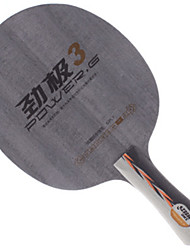 Недорогие -DHS® POWER.G3 FL Ping Pang/Настольный теннис Ракетки Пригодно для носки Против скольжения деревянный 1