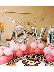 Недорогие -Свадьба / День Святого Валентина Алюминиевая фольга Свадебные украшения Романтика Все сезоны