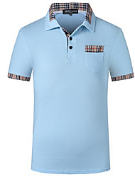 Herre - Ensfarvet, Basale T-shirt