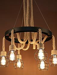 abordables -Rétro Lampe suspendue Lumière dirigée vers le bas - Style mini, 110-120V 220-240V Ampoule non incluse