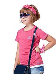 abordables -Tee-shirt de Randonnée Extérieur Séchage rapide Alpinisme Hors piste Fitness Respirabilité Tee-shirt N/C Activités Extérieures