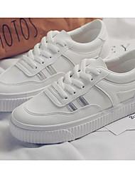 povoljno -Žene Cipele Sintetika, mikrofibra, PU Proljeće Jesen Udobne cipele Sneakers Ravna potpetica za Kauzalni Vanjski Obala Sive boje