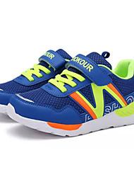 baratos -Para Meninos sapatos Tule Primavera Outono Conforto Tênis Caminhada para Casual Azul Escuro Azul Real