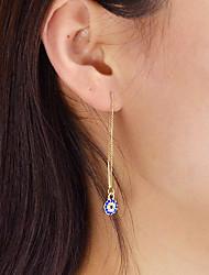 cheap -Women's Drop Earrings - Casual / Fashion Gold Circle Earrings For Daily / Date