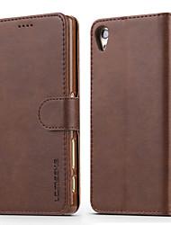 economico -Custodia Per Sony Xperia XZ Xperia XA Porta-carte di credito A portafoglio Resistente agli urti Con supporto Con chiusura magnetica