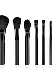 cheap -7 pcs Makeup Brushes Professional Blush Brush / Eyeshadow Brush / Lip Brush Nylon / Nylon Brush Soft / Full Coverage Wooden / Beech Wood / Wood