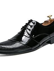 Недорогие -Муж. Официальная обувь Искусственная кожа Весна / Лето Деловые / Удобная обувь Мокасины и Свитер Золотой / Белый / Черный