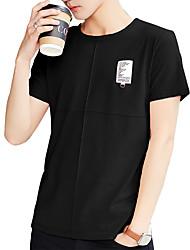 preiswerte -Herrn Solide - Aktiv Street Schick T-shirt Druck