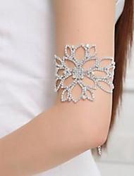 Недорогие -Arm цепи Цветы Классика, Мода Жен. Серебряный Украшения для тела Назначение Свадьба / Обручение
