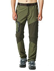 cheap -Men's Hiking Pants Outdoor Fast Dry, Quick Dry, Breathability Pants / Trousers / Convertible Pants / Bottoms Outdoor Exercise / Multisport