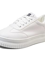 povoljno -Žene Cipele PU Proljeće Jesen Udobne cipele Sneakers Creepersice za Kauzalni Crn Zelen