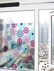 cheap -Window Film & Stickers Decoration Contemporary Floral PVC Window Sticker Matte