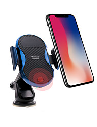 cheap -10W QI Wireless Charger Phone Car Charger USB with Infrared Sensor Cable QC 2.0 Wireless Charger Kit 9V1A 5V1.5A iPhone X/8 Plus Samsung