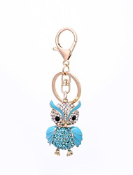 cheap -Owl Keychain Blue / Pink Alloy Vintage, Casual For Gift / Daily