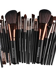 cheap -22pcs Professional Makeup Brushes Make Up Nylon Eco-friendly / Travel Size Wood Professional / Portable