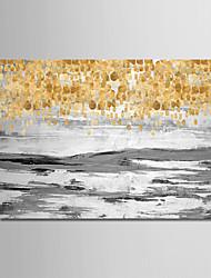 abordables -Peinture à l'huile Hang-peint Peint à la main - Abstrait / Paysage Moderne Sans cadre intérieur / Toile roulée