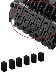 Недорогие -профессиональный Аксессуары для электрогитары Электрическая гитара Железо Аксессуары для музыкальных инструментов 0.8*0.4*0.5cm