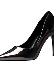 povoljno -Žene Cipele Umjetna koža Proljeće Ljeto Inovativne cipele Udobne cipele Cipele na petu Stiletto potpetica za Kauzalni Zabava i večer Pink