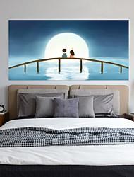 abordables -Autocollants muraux décoratifs - Autocollants muraux 3D Abstrait / Paysage Salle de séjour / Chambre à coucher