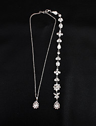 cheap -Body Chain Classic, Sweet, Elegant Women's White Body Jewelry For Wedding / Party